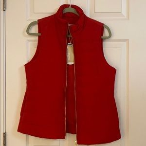 Michael Kors Jackets & Coats - Michael Kora Red Puffer vest